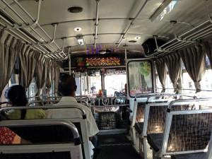 Fahren mit dem Bus Sri Lanka